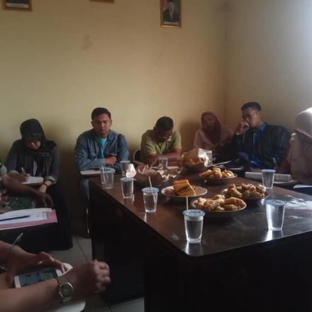 Rapat Koordinasi Pemerintah Desa Dengan Lembaga Masyarakat Desa
